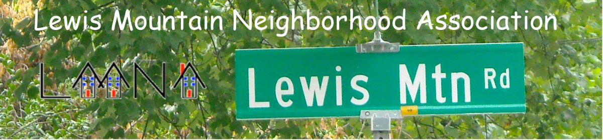 Lewis Mountain Neighborhood Association
